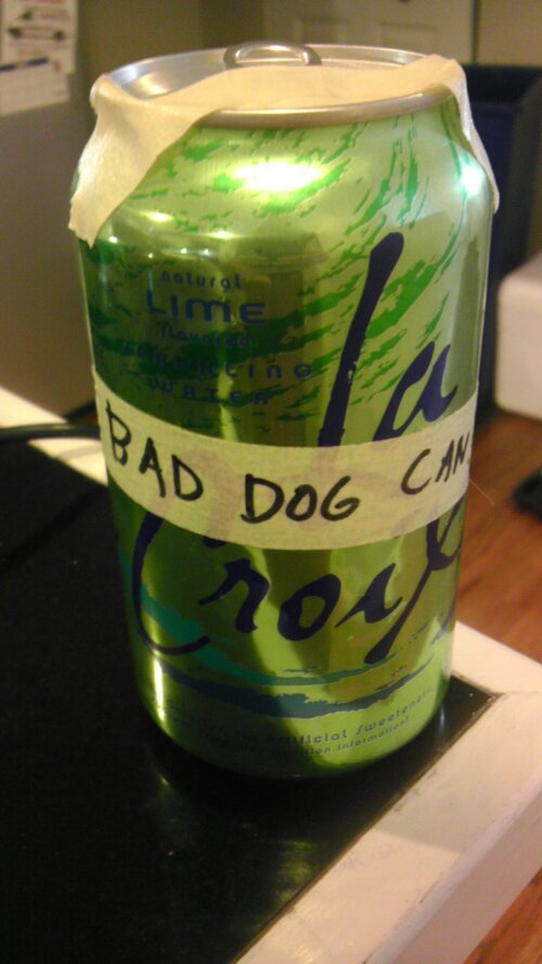 Homemade barking dog stopper  (1/2)