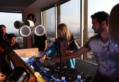 Check out ALISON WONDERLAND trap, hip hop and bass DJ set in The Lab LA