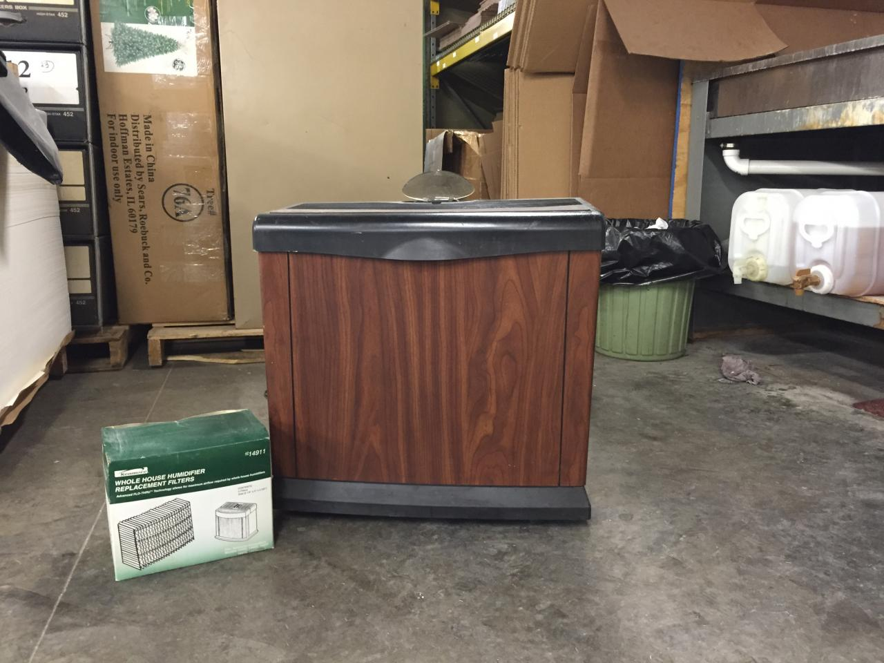 Lot 35 Kenmore Quiet Comfort 13 Humidifier With Filters