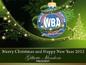 Merry Christmas and Happy New Year 2012