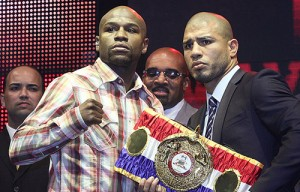 Mayweather vs Cotto WBA