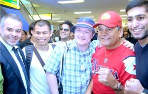 WBa - Gilberto Mendoza, Chris John, Ricky Hatton, Roberto Durán y Amir Khan