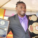 Axeman Gets Key To MoBay