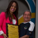 Gilberto Mendoza and Ogleidis Suarez received awards in Venezuela