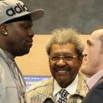 Don King in Russia - Jones vs Lebedev WBA cruiserweight title