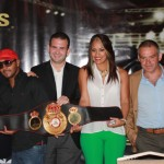 Chemito Moreno and Ogleidis La Nina Suarez next title defenses were announced in Panama