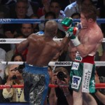 Mayweather defeated Canelo Alvarez