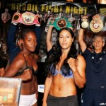Ready the weigh-in Denmark- Braekhus defends her welterweight title against Castillo