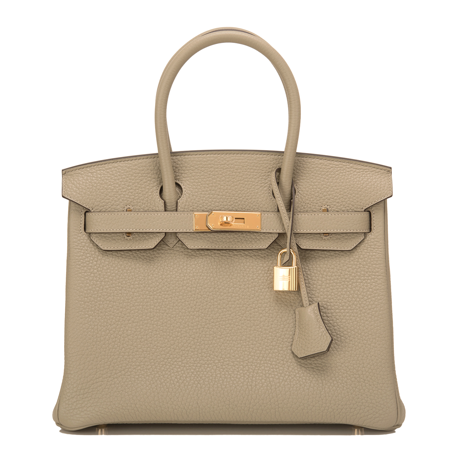 30cm Hermes Birkin Bag 30cm Sage Clemence Gold Hardware World