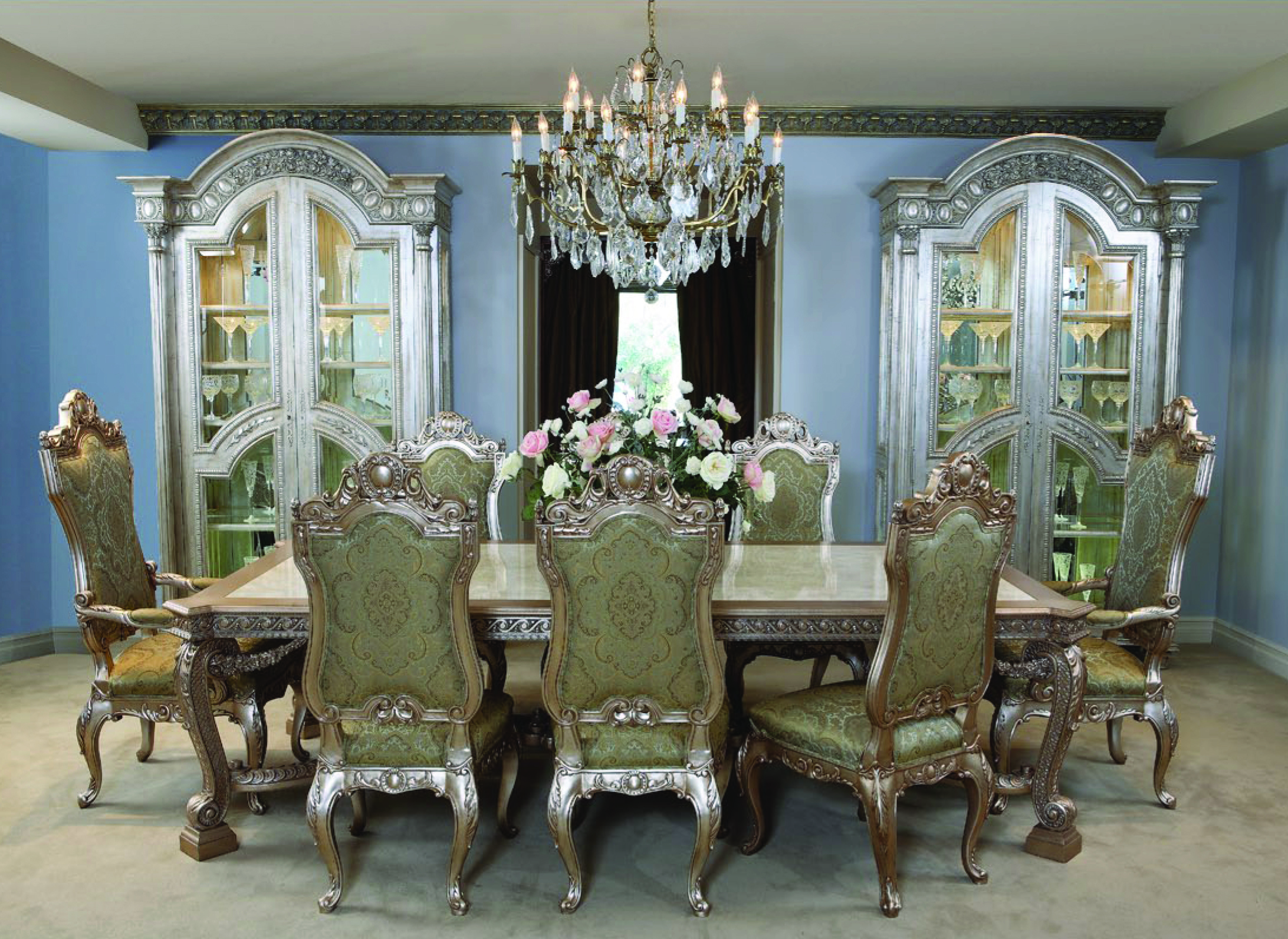 Dining Table Seating 10 De Medici Dining Table Chairs Seating For 10