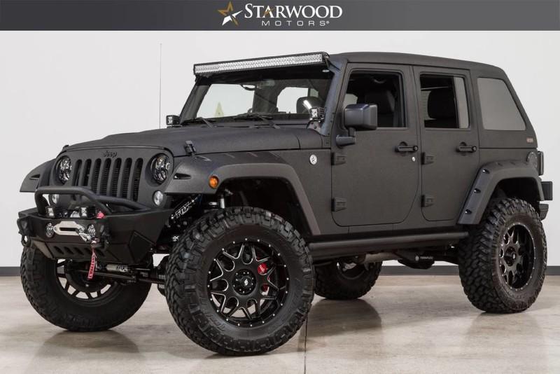 Starwood Motors 2016 Jeep Wrangler Unlimited Sport Hemi