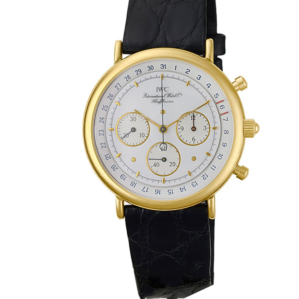 Gold Chronograph Iwc Chronograph Gold Watch | World's Best