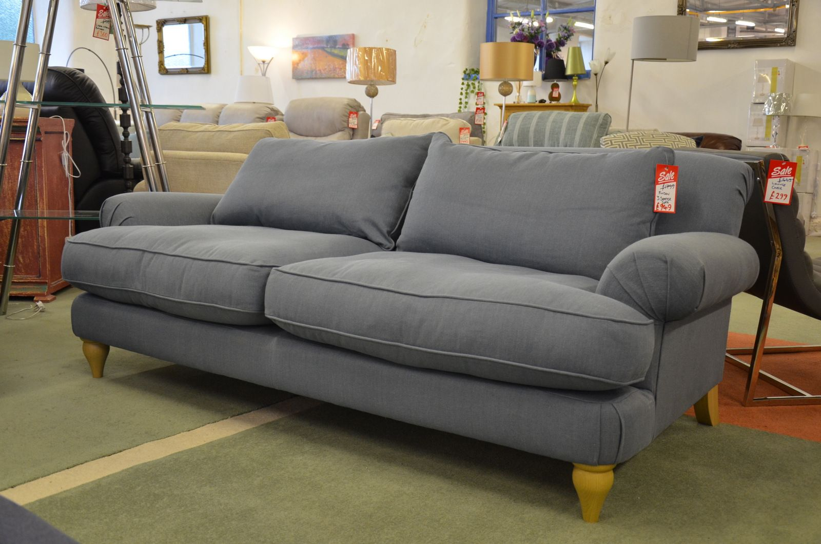 Designer Sofas John Lewis Findon Two Piece Suite 3 Seater Sofa And Armchair