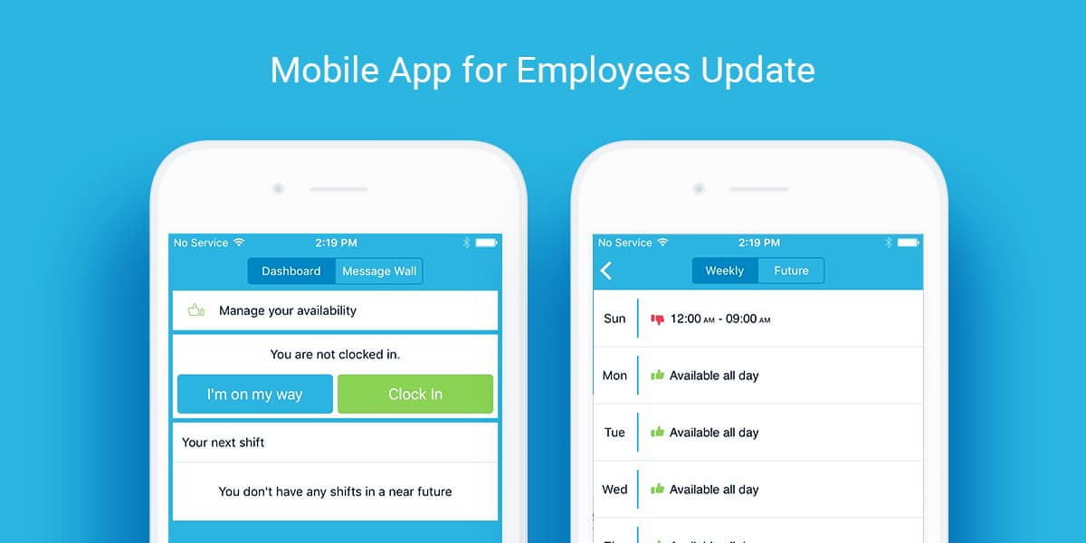 Employee Availability Mobile App To Manage and Schedule