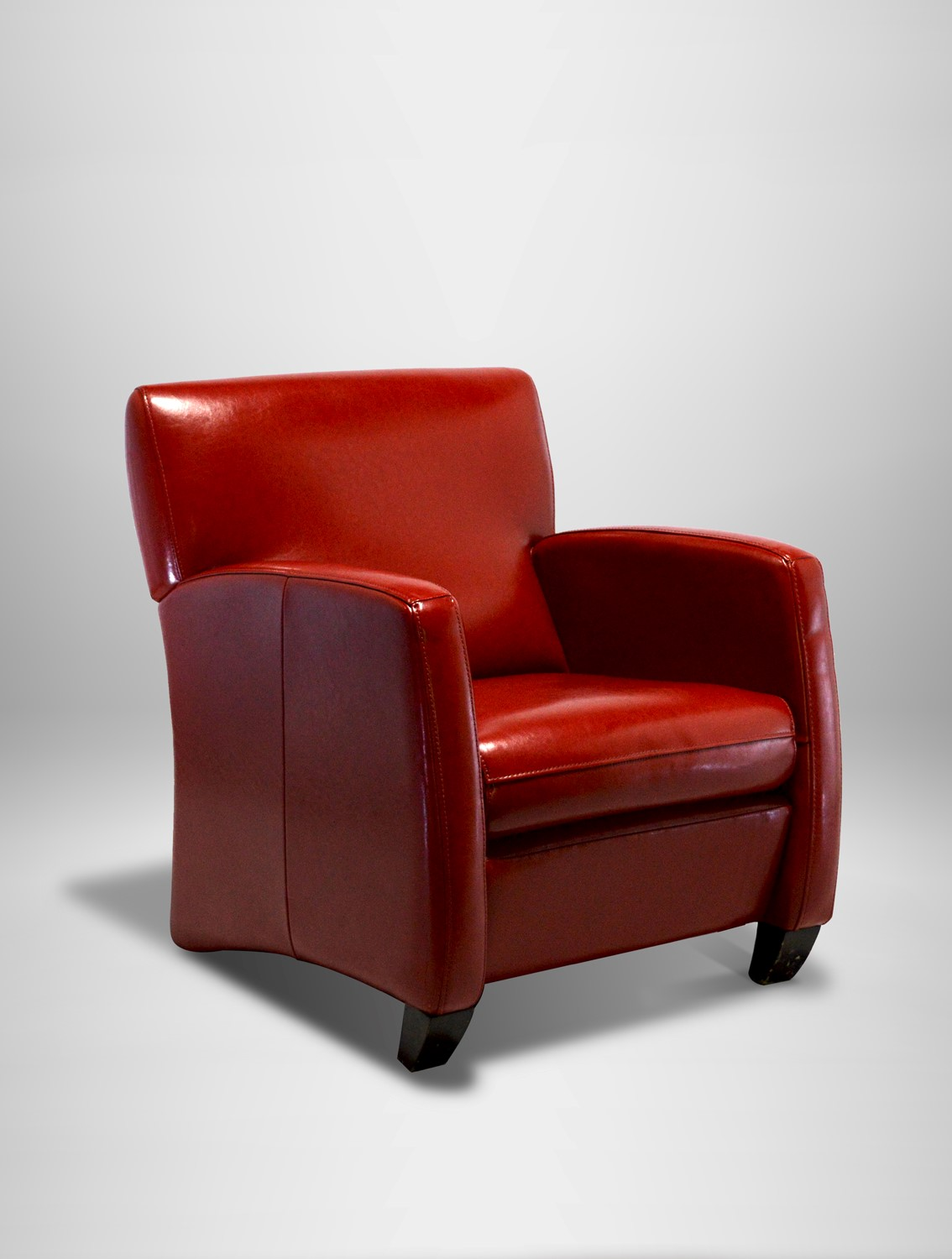 Leather Lounge Red Leather Lounge Chair