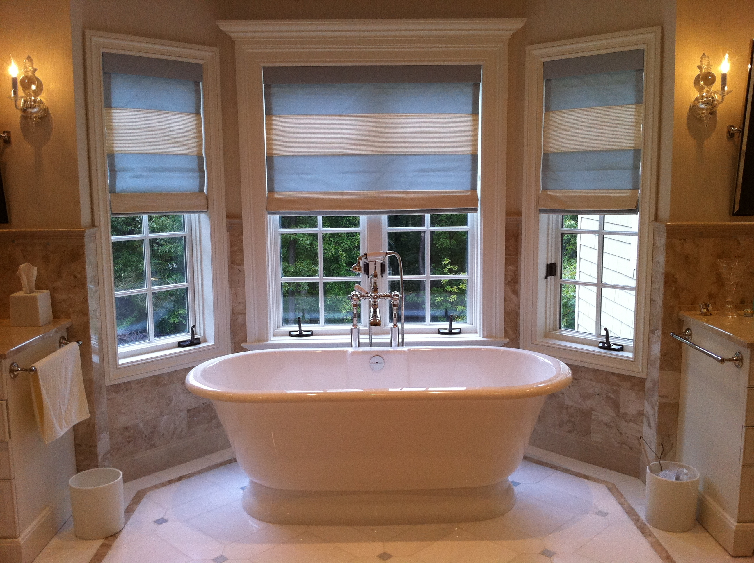 Bathroom window blinds and shades -  Shades Bathroom Window Coverings Inspirations Download