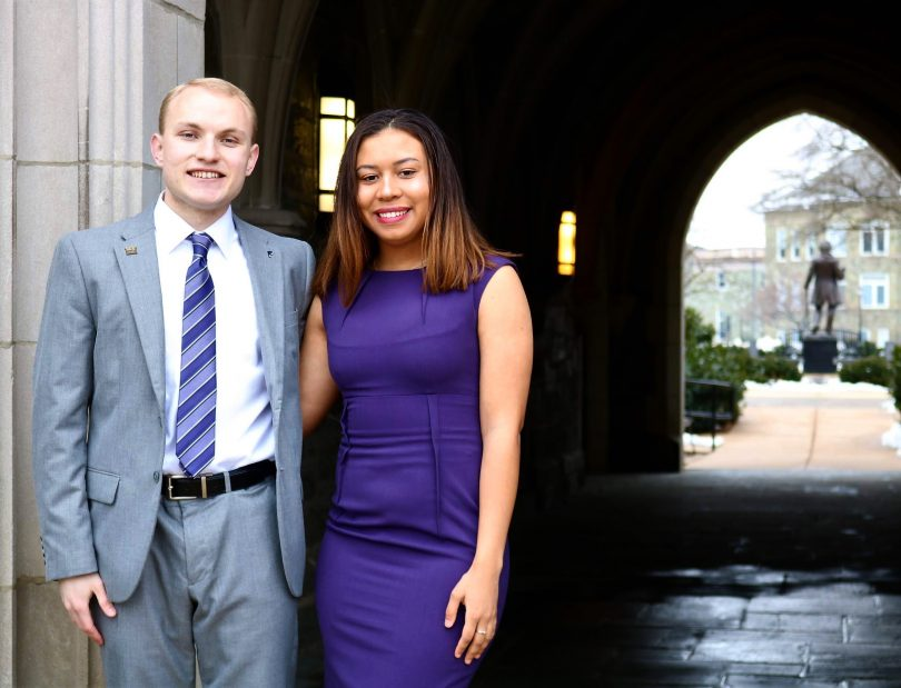 Interview with incoming SGA President and VP \u2013 The Quad