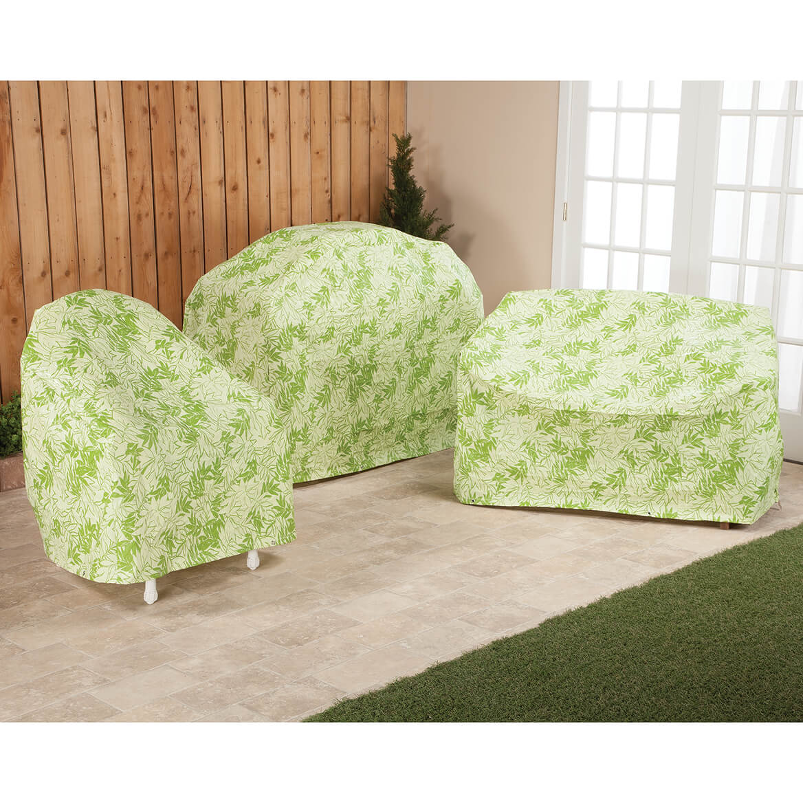 Quilted Lounge Chair Covers Leaf Pattern Quilted Lounge Cover