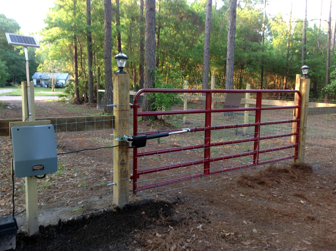 Diy Rolling Fence Gate Customer Installation Photos Gatecrafters