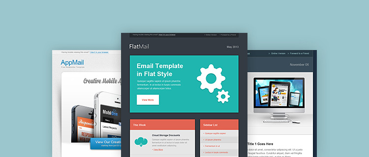 30 Awesome Email Newsletter PSD Templates - WDExplorer