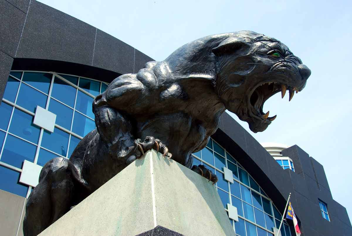 Panther Statue For Sale Nfls Carolina Panthers Are Up For Sale Wdkx