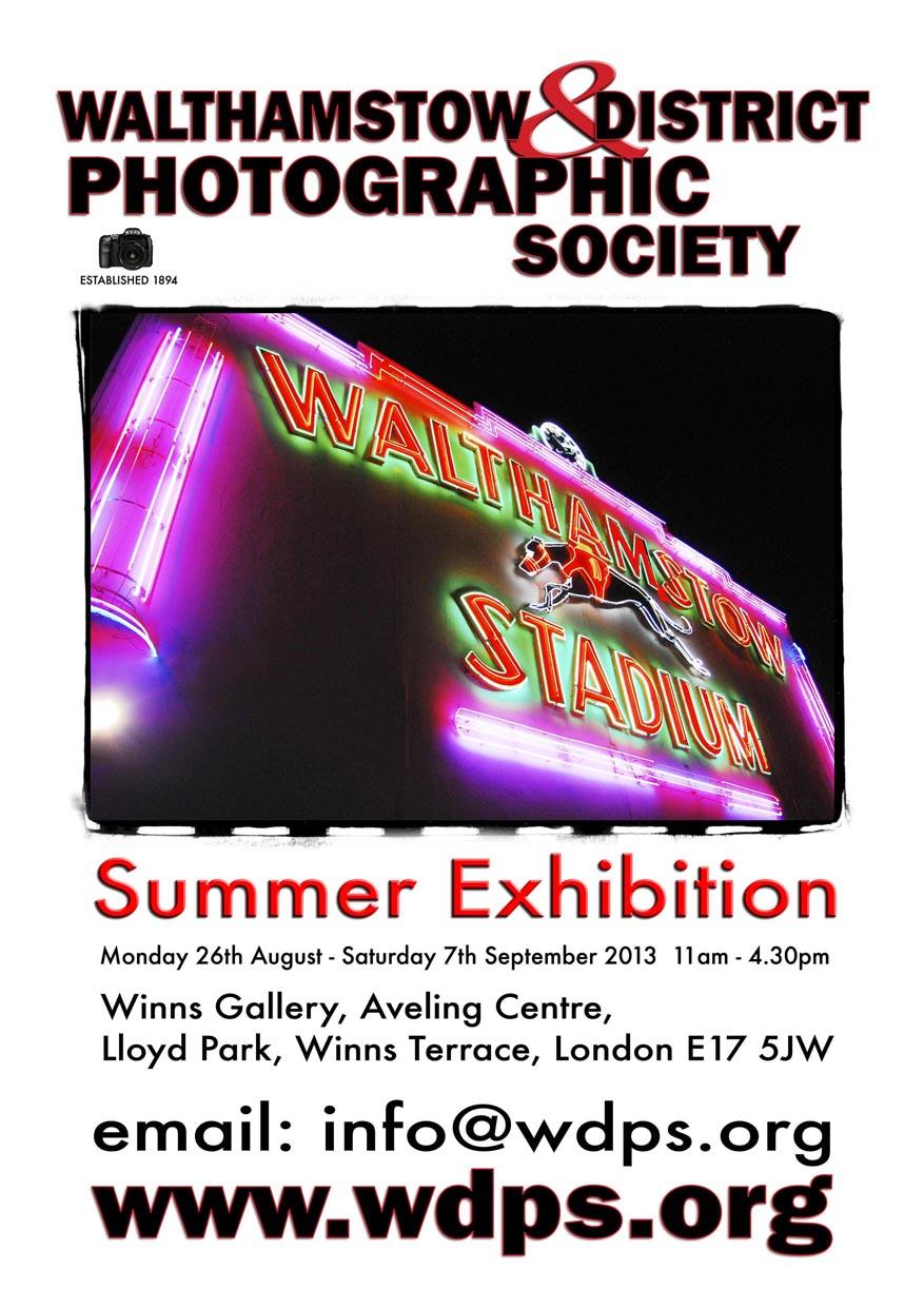 walthamstow summer exhibition