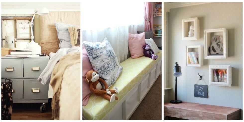 10 Best Bedroom Storage Ideas - Storage Ideas for Small Bedrooms - small bedroom organization ideas