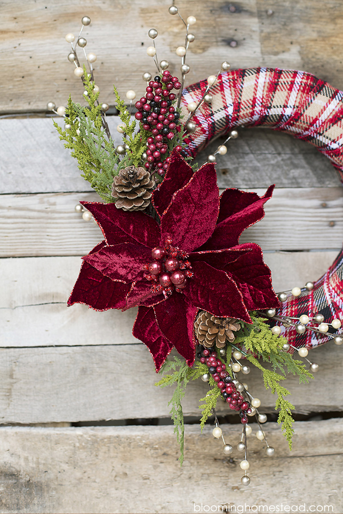 Diy Wreath Supplies 40 43 Diy Christmas Wreath Ideas How To Make A Homemade