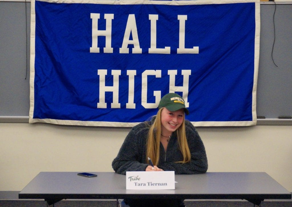 Hall High School Senior Signs National Letter of Intent - We-Ha