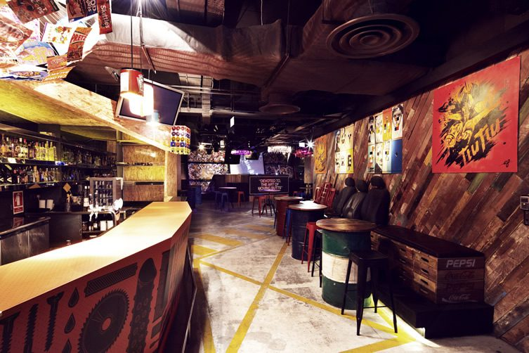 Prive Strand Art Bar — Singapore