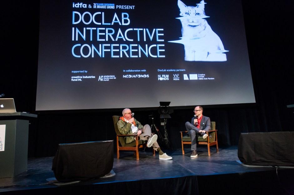Amsterdam, 22-11-2015, IDFA International Documentary Filmfestival Amsterdam. Doclab Conference in de Brakke Grond. Photo Nichon Glerum