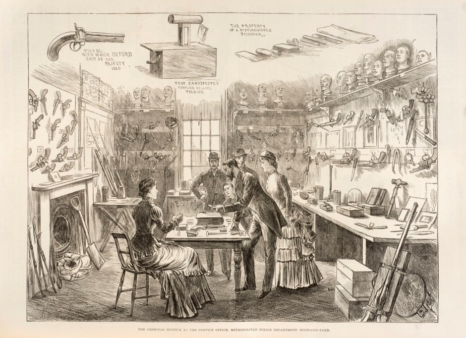 Early Police Museum illustration ILN 1883