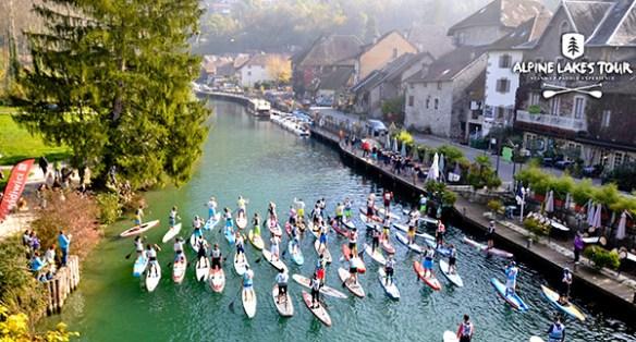 Canal de Savière stand up paddle