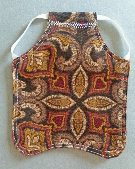 How to Make a Chicken Apron or Hen Saddle WeAllSew