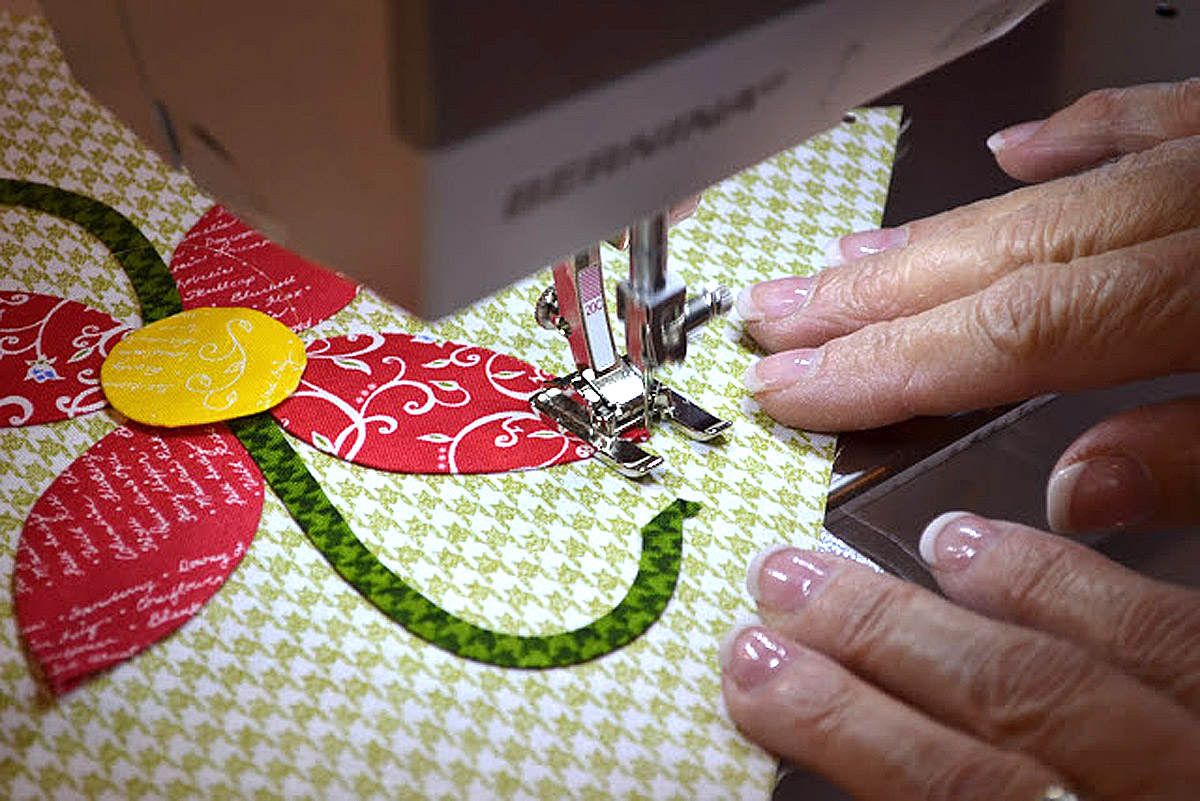 Applique Machine Appliqué Tutorial Weallsew