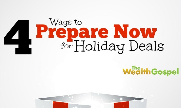 It's easy to get swept up in the holiday shopping season. Prepare your budget now so you can pounce on holiday deals when they appear. Here's how!