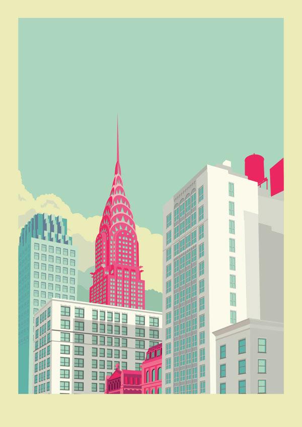 Brooklyn Bridge Wallpaper Black And White New York City Illustrations By Remko Heemskerk