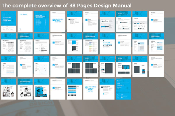 Brand Manual Template - how to manual template