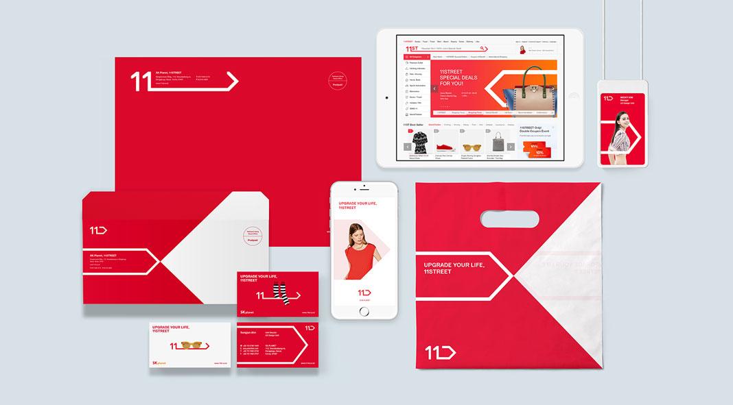 11STREET Rebranding by Plus X - rebranding
