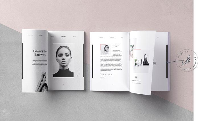 Phoebe - Adobe InDesign Magazine Template
