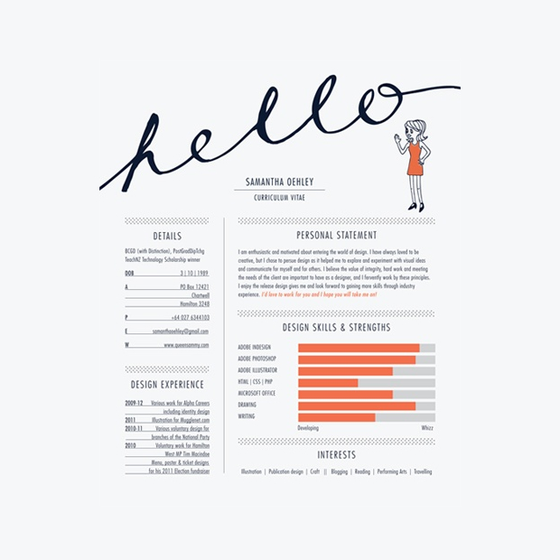 17 Awesome Examples of Creative CV Templates Guru - How To Write A Cv Resume