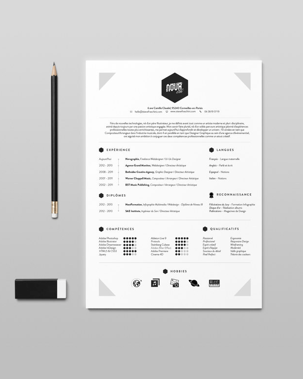 resume template inspiration