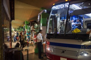 Located in southern Sonora, Ciudad Obregón's bus station is a major point for commercial buses traveling to Los Angeles, Phoenix and Tucson. The state of Sonora is a major transit point for travelers headed to the U.S. from all over Mexico.