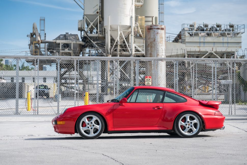7,700 miles Porsche 993 Turbo - Curated