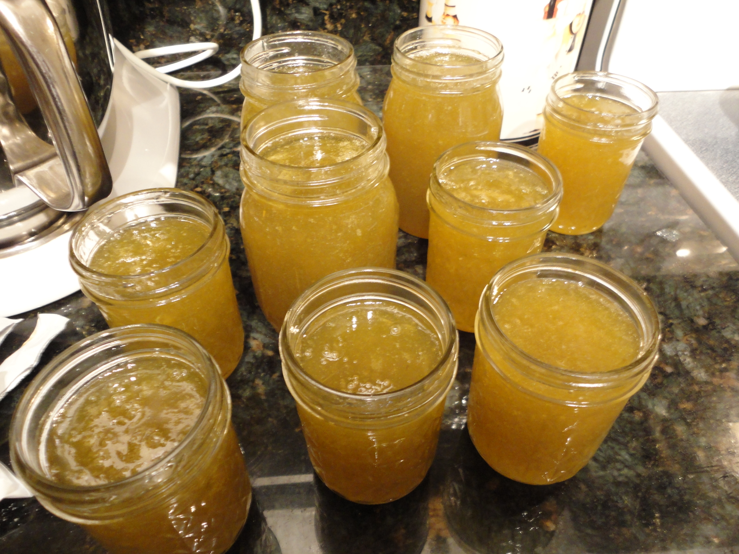 Homemade Garden Grape Jam Welch39s Take Note We Are Not