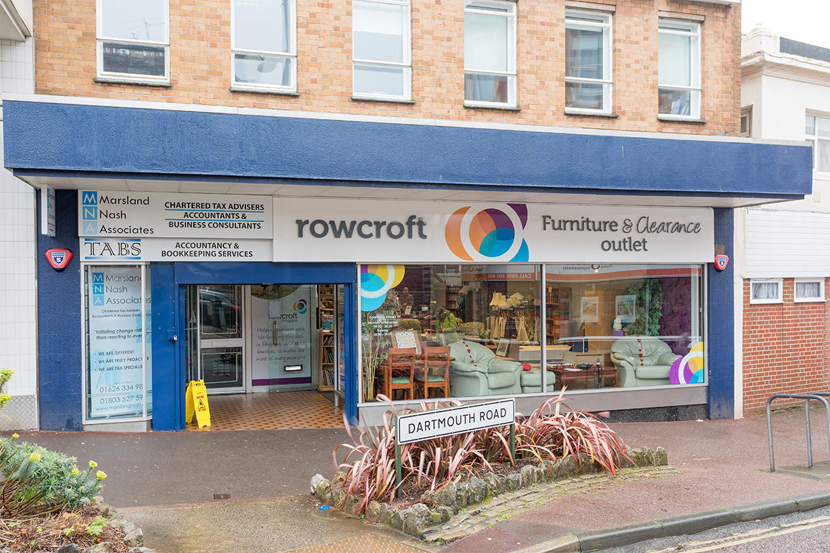 Rowcroft Hospice To Re Open Three Shops To Raise Vital Funds For Patient Care We Are South Devon