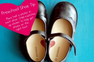 WFMW: Preschool Shoe Tip