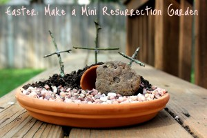 DIY Mini Resurrection Garden