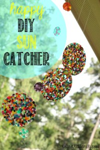 DIY Happy Sun Catcher