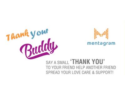 Mentagram 'Thank Your Buddy' Campaign   Dr Bhavi Mody